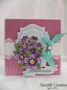 Heartfelt Creations aus USA EXCLUSIVE HEARTFELT aus den USA! - Hobby, Crafts and Paperdesign