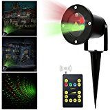 MICTUNING Waterproof Firefly Christmas Light Projector with Wireless Remote Timer Star Show Landscape lighting... christmas deals week