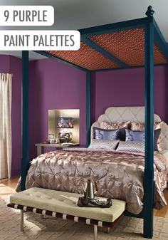 Purple Interior Colors Inspirations Roomspaint Cansroom
