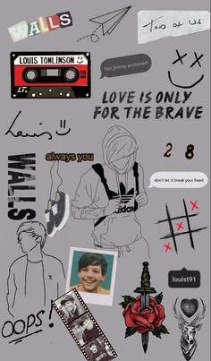 One Direction Images, One Direction Wallpaper, One Direction Louis Tomlinson, Louis Tomlinsom, Cute Wallpaper Backgrounds, Wallpapers, Louis Williams, Photo Wall Collage, Larry Stylinson