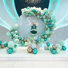 Welcome baby Sona backdrop, balloons and Centerpices by me… Boy Baby Shower Themes, Baby Shower Balloons, Baby Shower Parties, Baby Boy Shower, Birthday Balloon Decorations, Baby Shower Decorations, Deco Ballon, Balloons Galore, Creation Deco