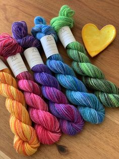 Yarn hand dyed in Bergen - Gateway to the Fjords by FjordFibres Yarn Colors, Colours, Yarn Inspiration, Sock Yarn, Hand Dyed Yarn, Handicraft, Yarns, Felting, Color Combos
