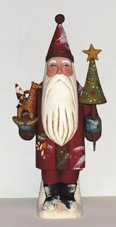 Collecting Santa on Pinterest | Susan Smith, Wood Carvings and ...