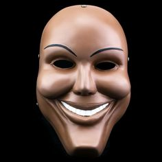 Halloween Edition Movie Theme Human COS clear plan to send teams of human smiley face resin mask Alumni