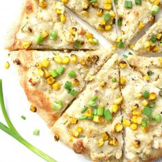 This Vegan Mashed Potato White Pizza is the ultimate comfort food. Creamy white base, mashed potatoes, fresh corn and savory gravy.