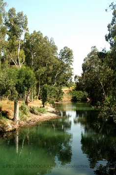 The Jordan River, my future home.