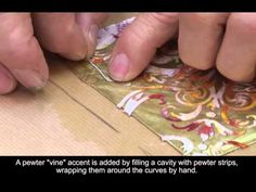 How to make Boulle Marquetry. I think I can do it. This is the reason lots of people imitated his work.