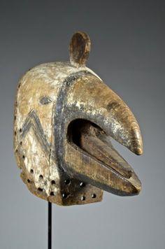 Luba people - Bird Mask. D.R.CONGO