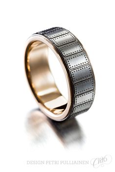Home Petri Pulliainen Institute Of Design, Petra, Laser Engraving, Different Colors, Rings For Men, White Gold, Wedding Rings, Rose Gold, Engagement Rings