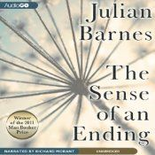 Today's Audible Daily Deal is The Sense of an Ending, by Julian Barnes, read by Richard Morant [AudioGO]. Man Booker Prize, Fiction, 2011
