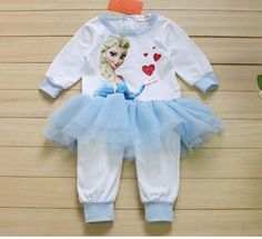 New Frozen Long Sleeve Baby Girl Pure Cotton Printing Romper 2015 Girl Lace Dress Baby Clothes B001 From Michaelshenzhen, $36.38   Dhgate.Com Girls Lace Dress, Baby Dress, Frozen Kids, Harajuku, Printing, Rompers, Pure Products, Long Sleeve, Sleeves