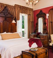 Each room at Madrona Manor - a Wine Country Inn and Restaurant in Healdsburg, CA- is uniquely decorated.