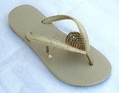 A personal favorite from my Etsy shop https://www.etsy.com/il-en/listing/508217099/wedding-sandals-bridesmaid-flip-flop