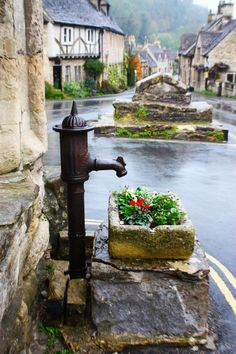 Castle Combe. The Cotswolds. England.