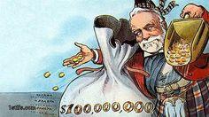 Тертый богач // Как рост личных состояний влияет на экономику  Сейчас в мире происходит бурный рост личных богатств, которые и без того уже достигли грандиозных размеров. История показывает, как работают личные богатства в роли механизма общественной и политической жизни.