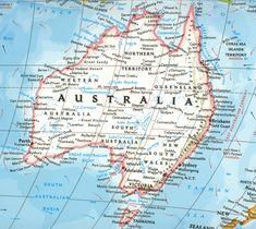 Australia | Mapa: Australia