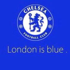 London is blue Chelsea fc