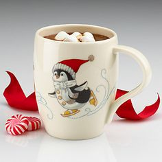LENOX Your Home: Coffee & Tea Accessories - Chilly Chap Penguin Mug