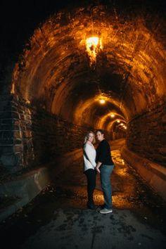 old town alexandria tunnel portrait