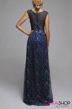Rochie de seara lunga bleumarin Hannah - 533 Lei -  Fabricat in Europa -   50% PET,  50% poliester -   Comanda acum!  #divashopromania #divashop #rochii #rochiideseara  #fashion #fashionista #fashionable #fashionaddict #styleoftheday #styleblogger #stylish #style #instafashion #lifestyle #loveit #summer #americanstyle #ootd #ootdmagazine #outfit #trendy #trends #womensfashion #streetstyle #streetwear #streetfashion #shopping #outfitoftheday #outfitinspiration #ootdshare # Blogger Style, Fashion Addict, Outfit Of The Day, Diva, Street Wear, Street Style, Lifestyle, Stylish, Womens Fashion