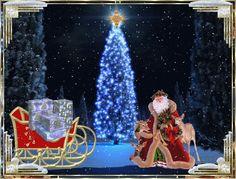 Самые красивые анимационные новогодние открытки