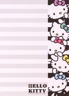 Printable Hello Kitty Sanrio Hello Kitty Images, Hello Kitty Items, Sanrio Wallpaper, Hello Kitty Wallpaper, Little Twin Stars, Envelopes, Sentimental Circus, Hello Kitty Drawing, Hello Kitty Collection