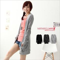 Buy 'Maymaylu Dreams – Cotton Long Cardigan' with Free International Shipping at YesStyle.com. Browse and shop for thousands of Asian fashion items from Taiwan and more!