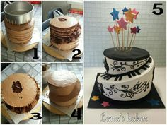 How to make a spiral cake. www.lanaskaker.123hjemmeside.no