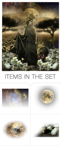 """""""Mapuche Warrior Girl"""" by carolgrant ❤ liked on Polyvore featuring art"""