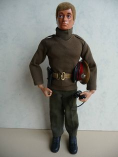 Vintage Palitoy Action Man British Army Officer Talking Commander Doll | eBay