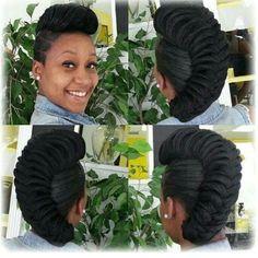 V Unique.... - http://www.blackhairinformation.com/community/hairstyle-gallery/braids-twists/v-unique/ #fishtailbraid #braids