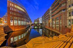 Hamburgs Brücken - hier die Ellerntorsbrücke