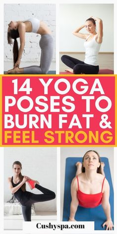 Try incorporating these incredible yoga poses into your next yoga practice to burn more fat and get stronger. These easy yoga poses will help you feel stronger while helping you lose weight with yoga. #YogaPoses #Yoga Easy Yoga Poses, Yoga Poses For Beginners, Yoga Inspiration, Fitness Inspiration, Yoga Fitness, Fitness Tips, Yoga Facts, Beginner Yoga Workout, Bikini Bum