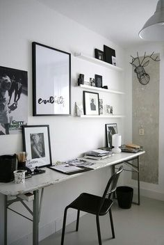 Creative use of space to create a functional office space