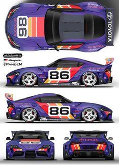 Nascar Race Cars, Sport Cars, Sports Cars Lamborghini, Racing Car Design, Jdm, Car Mods, Tuner Cars, Futuristic Cars, Car Drawings