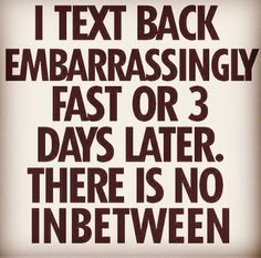 The truth about texting