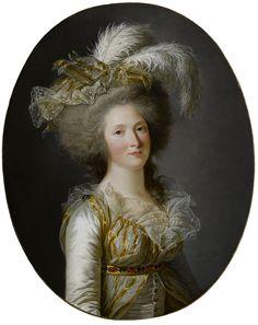 Labille-Guiard, Adélaïde - Elisabeth-Philippe-Marie-Hélène de France, dite Madame Elisabeth 1788