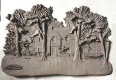Architectural Clay Reliefs