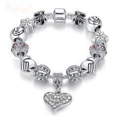 """""""Bella""""  Bracelet - Silver"""