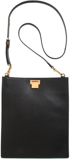 THE ROW Flat Tote Messenger   # Pinterest++ for iPad #