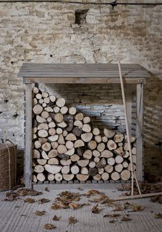 Log Store by The Olive Tree - www.theolivetreeshop.co.uk