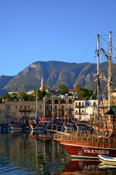 North Cyprus Kyrenia Harbour