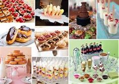 Dessert bar.....could u save money on the cake doing this??