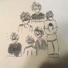 self doodles (moldymacncheese)