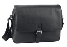 d&n Business Line Messenger Bag- 5534 schwarz