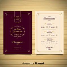 Japanese Restaurant Menu, Restaurant Web, Restaurant Poster, Restaurant Menu Design, Restaurant Branding, Food Menu Template, Restaurant Menu Template, Wedding Menu Template, Menu Vintage
