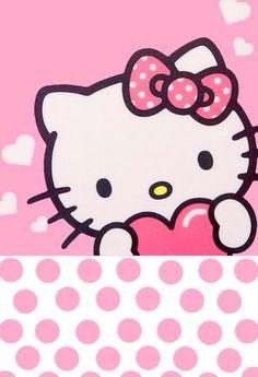 Hello Kitty Rosa Wallpaper