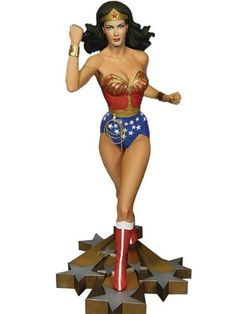 Wonder Woman Lynda Carter TV Series Maquette Statue Tweeterhead IN STOCK