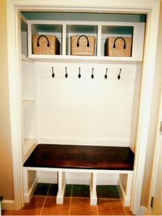 closet conversion | My coat closet conversion! | For the Home
