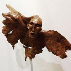 Il legno, le radici e i suoi segreti. Da sabato (ore 18) le opere di Alfredo Orsi al San Carlo, #Castelfiorentino #Angelo #Angel #Art #Sculpture